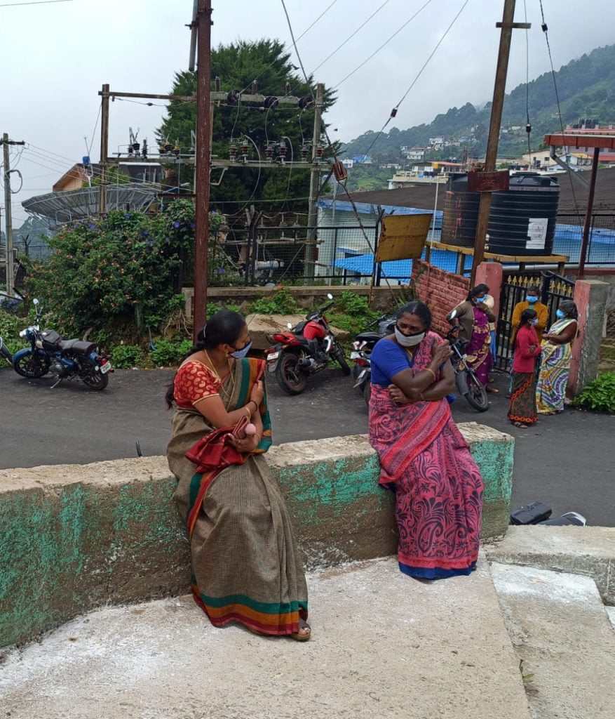 In Kodai, alone together (Photo credit: Azad Reese)