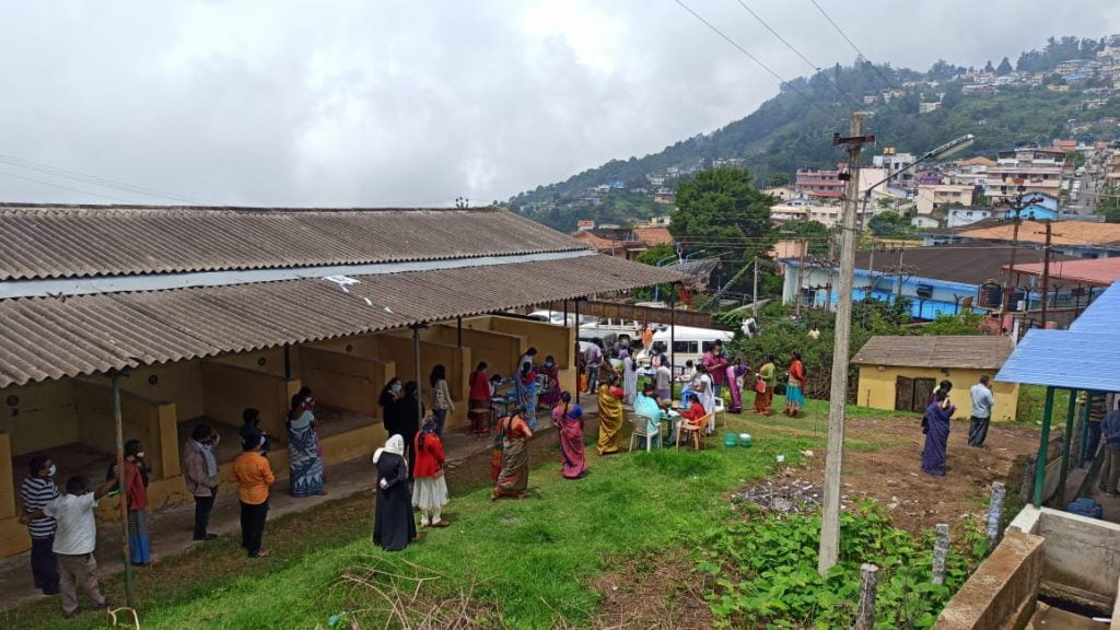 Kodai residents were given access to vaccinations via multiple camps and sources through April and May (Photo credit - Azad Reese)
