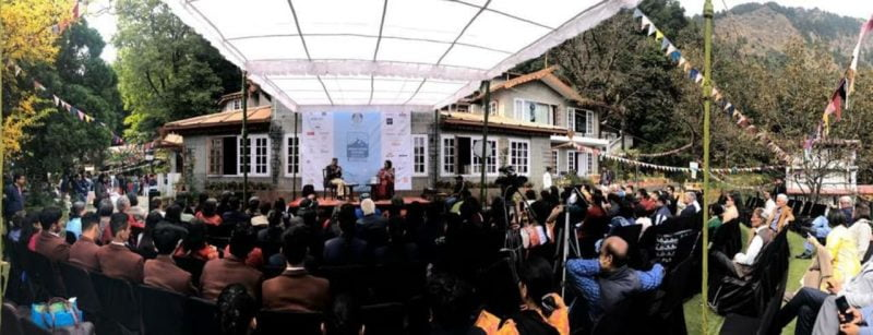 Audiences at the Himalayan Echoes festival in Kumaon