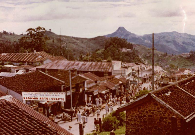 Kodai Bazaar in 1971