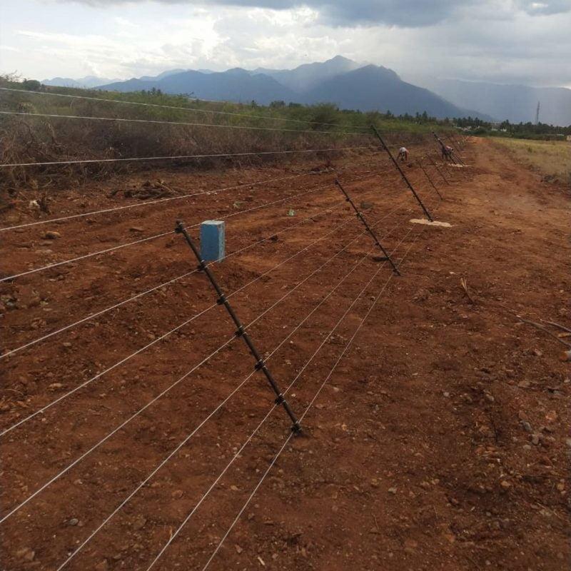 Fencing designed to deter multiple species