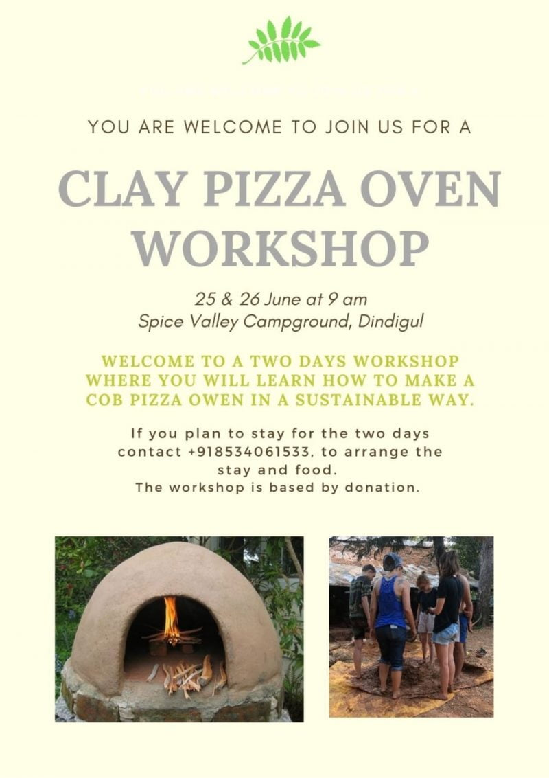 Poster for Cobb Pizza Oven Workshop