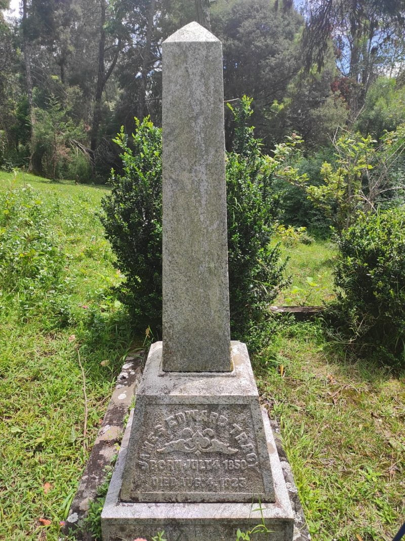 The joint grave of the Tracys -1