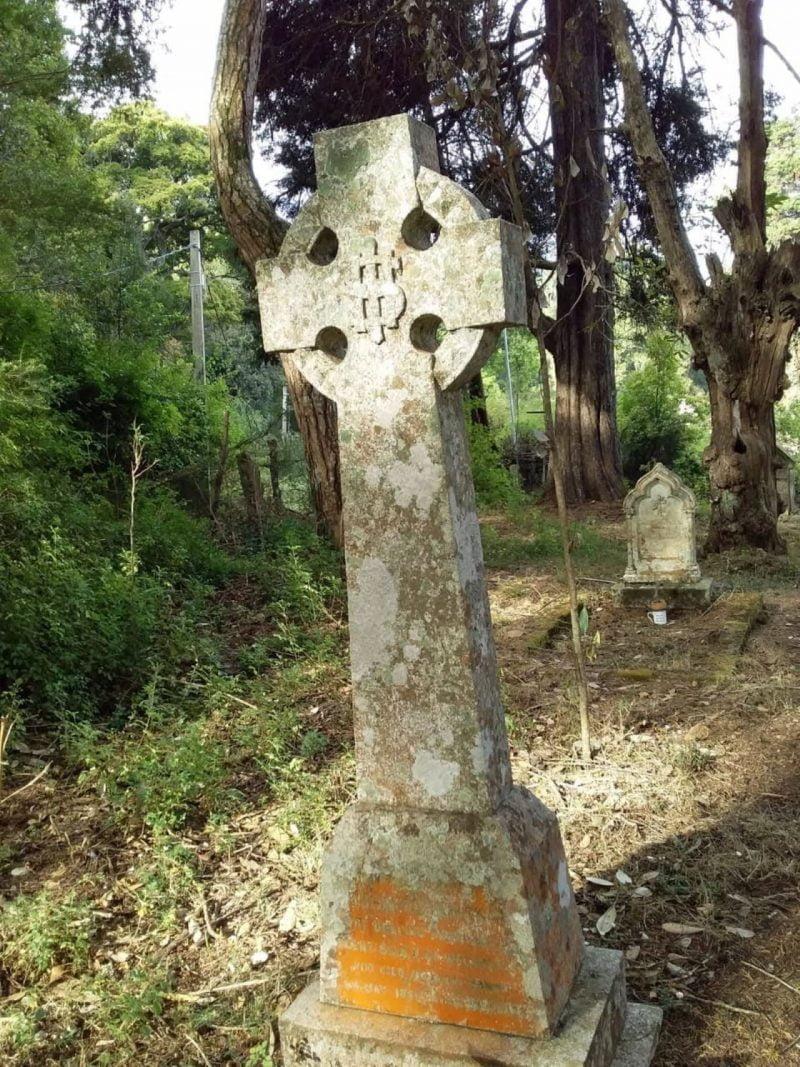 John Adamson's grave