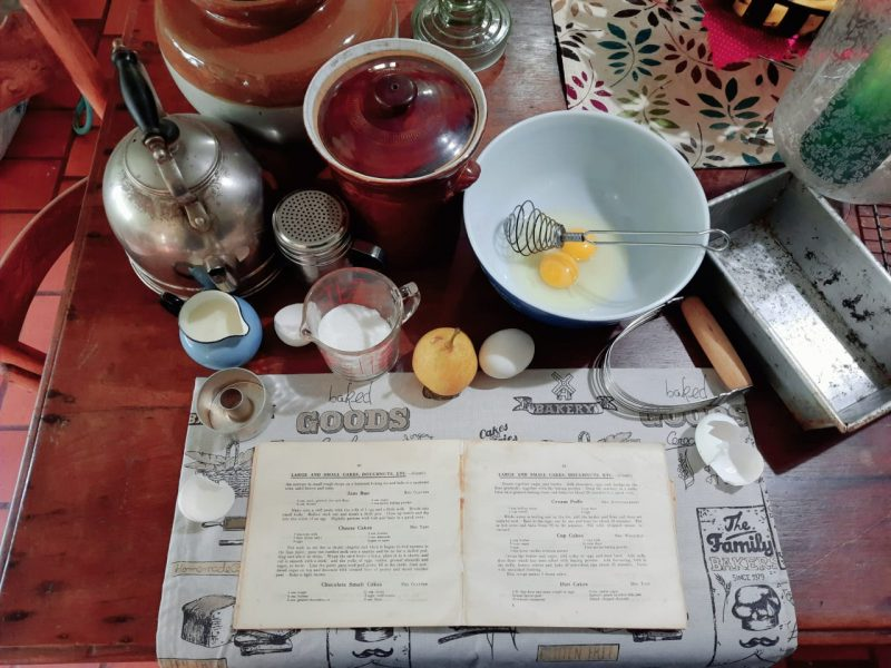 Cooking from the town's classic cookbook