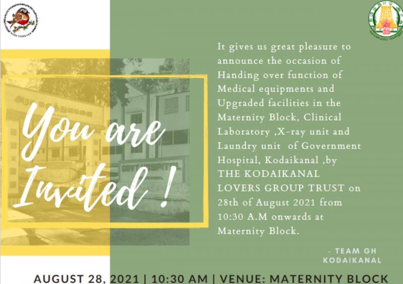 medical equipment invite
