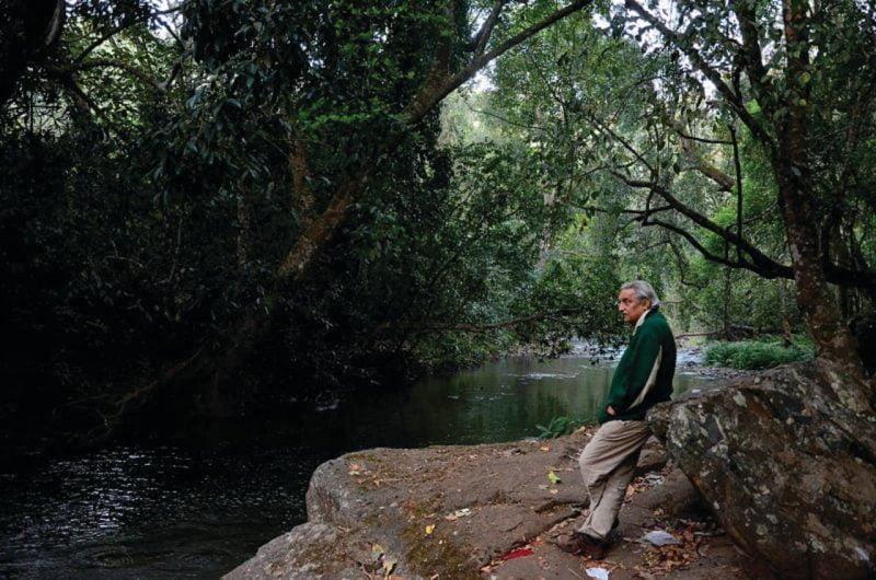 Bittu Sahgal at Mutthodi Bhadra Tiger Reserve