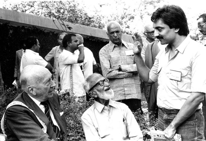 Bittu Sahgal and Salim Ali