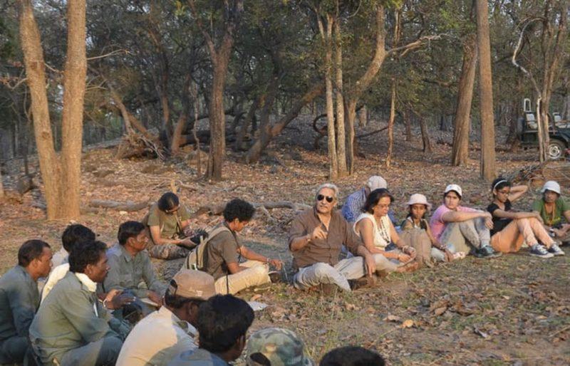 Bittu Sahgal at KFT National Camp, Pench