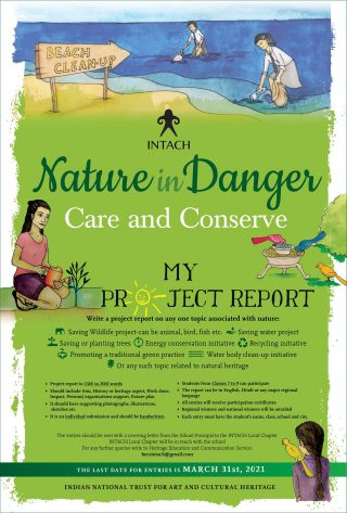 INTACH Nature in Danger Poster